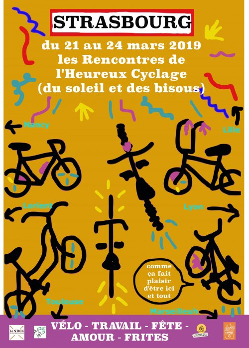 Affiche Rencontres Nationales 2019 Strasbourg